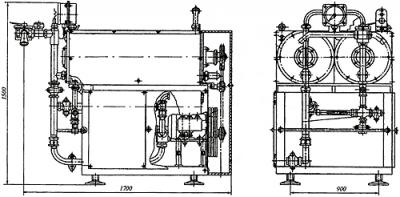 Оборудование для переработки жира