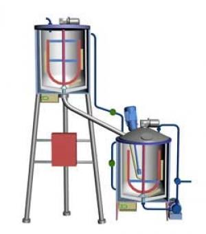 Оборудование для производства крема, геля