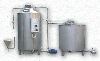 Установка (линия) для производства майонеза, кетчупа, сгущеного и вареного молока, повидла.