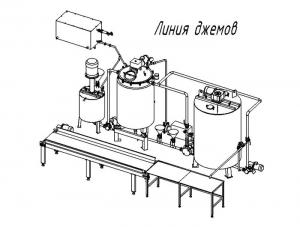 Оборудование для производства соуса Демиглас 15000 кг готовой продукции /сутки