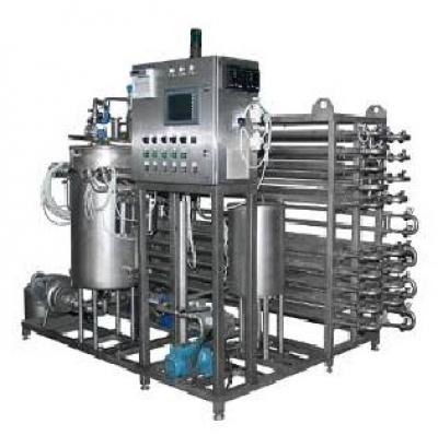 Оборудование для производства молока. Трубчатая стерилизационно-охладительная автоматизированная установка.